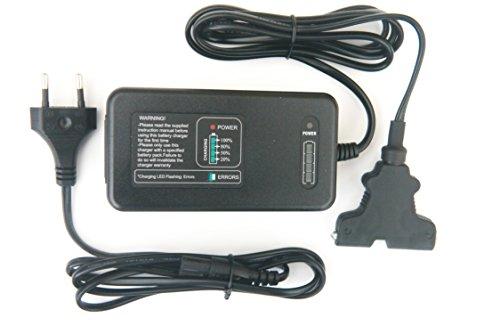 - Vollautomatische Akku-Ladegerät für Powakaddy–Puls Kontrolle/ausgestattet mit 2Pin Euro-Stecker