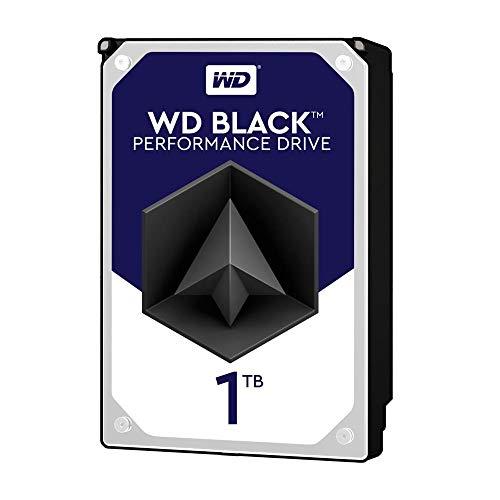 WD Black 1TB Performance Desktop  Hard Disk Drive - 7200 RPM SATA 6 Gb/s 64MB Cache 3.5 Inch