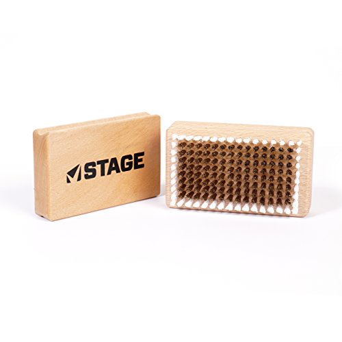 STAGE Brass Brush White Nylon Ring