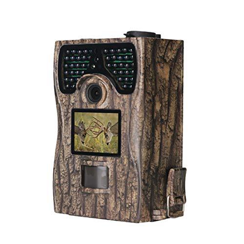 CCDYLQ 16MP 1080P Spiel Trail Kamera wasserdicht mit Nachtsicht-Bewegung aktiviert 0,2 s Triggergeschwindigkeit 48IR LEDs 120 ° Erfassungsbereich Cams für wild lebende Tiere Überwachung Home Security