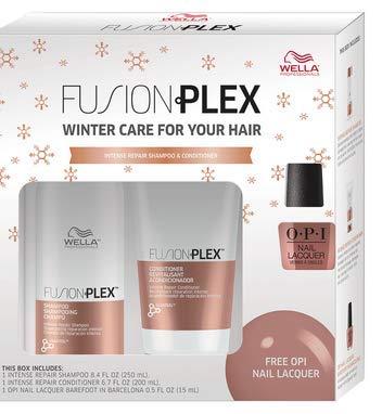 Price comparison product image Wella FusionPlex Intense Repair Shampoo 8.4oz,  Conditioner 6.7oz & Polish