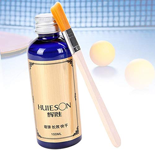Buy Urnanal Table Tennis Racket Glue, Pingpong Racket Rubbers Table Tennis Liquid Glue, with Special...