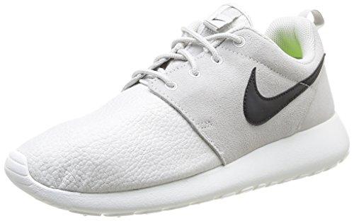 Nike Roshe Run 685280-017, Unisex-Erwachsene Laufschuhe Training, Grau (Lght Ash Grau/Schwarz-Smmt Weiß-Volt 017), EU 45.5