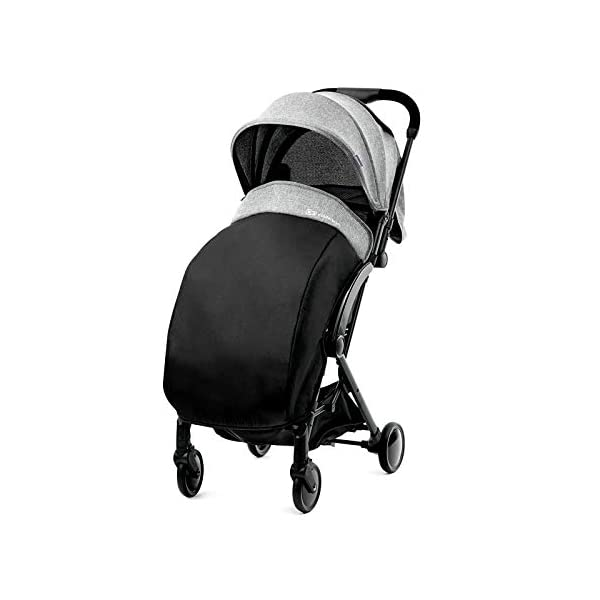 Kinderkraft Pilot light stroller, buggy stroller, child buggy, folding KinderKraft An innovative folding system, with a shoulder strap for easy transport The set contains: Modern barrier, shopping basket under the seat, foot protection, rain cover and cup holder. High quality stored, rubber wheels - all muffled. 7