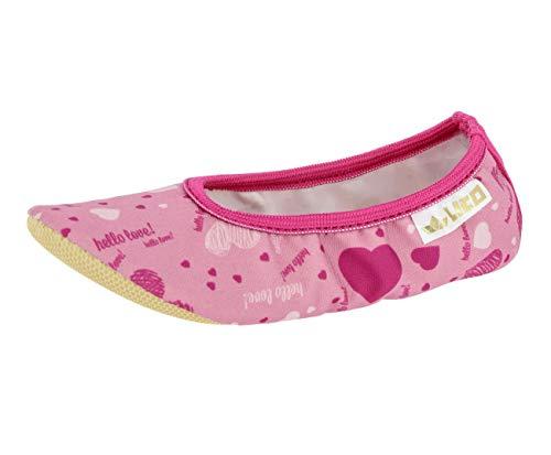 Lico G 1 STYLE Unisex Kinder Gymnastikschuhe, Mehrfarbig Rosa/ Pink, 39 EU