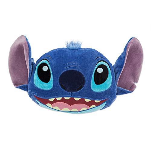 Disney Store Stitch Big Face Cushion 40cm - Lilo and Stitch