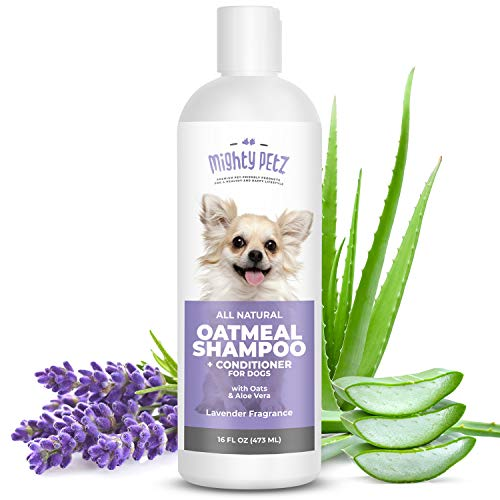 2-in-1 Oatmeal Dog Shampoo and Conditioner...