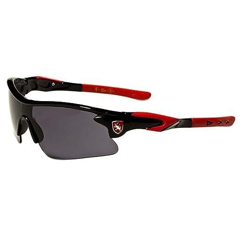 64cb11cf9cc0 Khan New 2014 Kids Boys Biking Baseball Performance Sports Sunglasses-KN40KD