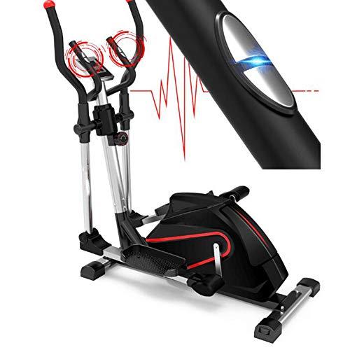 ZHANGY Bicicleta elíptica Ciclismo de Interior Bicicleta Ajustable Bicicleta de Gimnasio en casa Máquina de Ejercicios con Monitor de frecuencia cardíaca