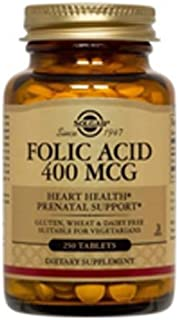 Folic Acid 400mcg 250 Tabs 3-Pack