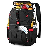 Cooler Backpack with 5 Ice Packs, 32 Cans Insulated Cooler Bag, Large...