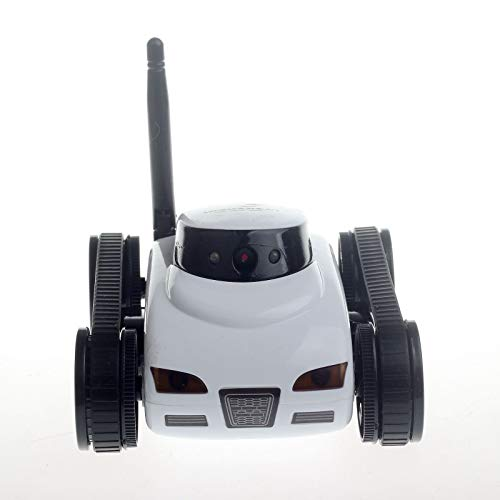 Mini RC I-Spy WiFi Tank White Color Robot 777-270 with Camera Remote Control by Android Phone RC Tank Kids Toy