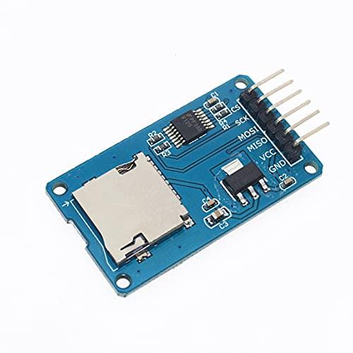 Nueva placa de expansión de almacenamiento Micro SD perfecta 1 Uds Mciro SD TF tarjeta módulo de protección de memoria SPI para Arduino