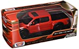 Motormax 79344RD 1: 27 W/B - 2017 Ford F-150 Raptor, Red