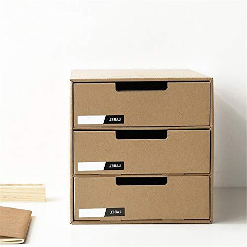 NgMik Rack de Carpetas de Archivo Escritorio de cajones Archivos de clasificación de Almacenamiento Caja de Papel de Escritorio DIY Estante Revista periódico Titular