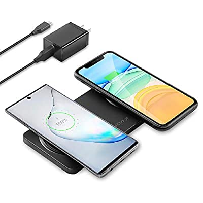 ZealSound Dual Wireless Charger,Wireless Chargi...