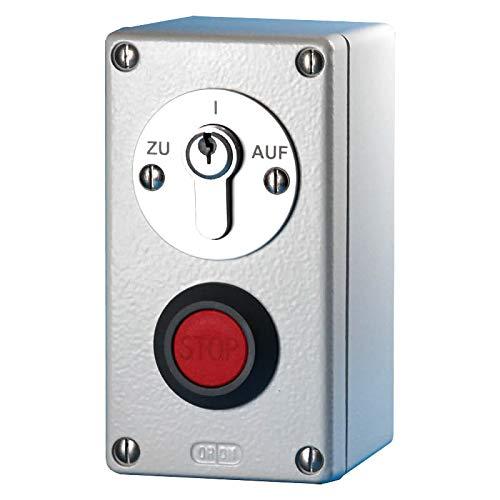 BAUER - Schlüssel Schalter AP 250V/3A IP55 - Torantrieb, Garage, Schranken, Aufzug,