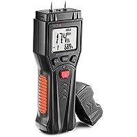 Tacklife Professional 3-in-1 Pin Type Digital Wood Water Moisture Meter