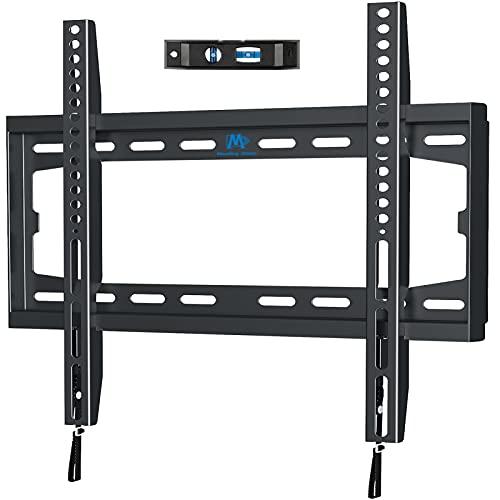 Mounting Dream Feste TV-Wandhalterung, ultradünn, für die meisten 26-55-Zoll-Fernseher bis VESA 400 x 400 mm und 45,5 kg, flach an der Wand, Flache TV-Halterung MD2361-K-02