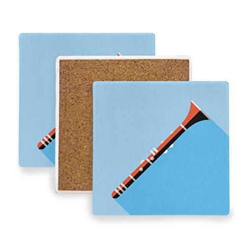 DEZIRO Suona Mehrzweck-Tassenmatte zum Schutz von Möbeln vor Wasserflecken oder Beschädigungen ohne Verschütten, Wärme, Geschenke, Dekoration, Holz, 1, 2 pieces set