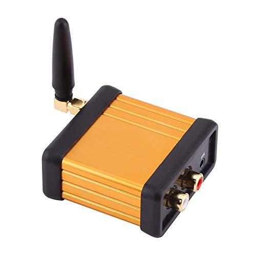 Ligero Bluetooth 4.2 Mini caja de recepción de audio estéreo Placa de amplificador de salida RCA DC 5V Componente de audio de baja latencia para auriculares
