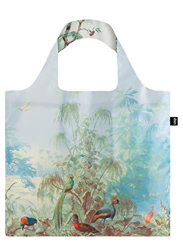 LOQI Mad Brazil & Chinese Decor Duo Bag Bolso de Viaje, 50 cm, 15 Liters, Multicolor (Brazil Duo)