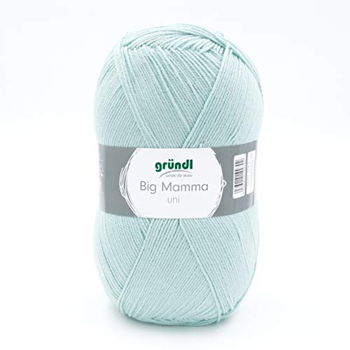 Gründl Big Mamma 2611-134 - Gomitolo di lana acrilica a tinta unita, 29 x 16 x 12 cm, 400 g