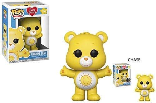 Funko Pop!- Pop Animation: Care Bears-Funshine Bear Figura de vinilo, Multicolor (26719) , color/modelo surtido