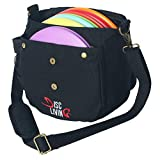 Disc Living Disc Golf Bag | Frisbee Golf Bag | Lightweight Fits Up to 10 Discs | Belt Loop...
