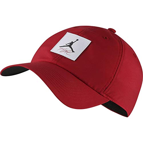 Nike Jordan H86 Legacy Flight Hat, Gym red/Black, One Size