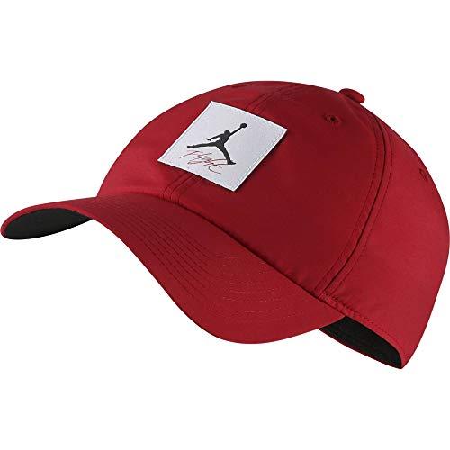 Nike Jordan H86 Legacy Flight Hat, Gym red/Black, One Size