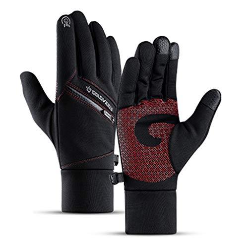 JOYKK Winter Warm Unisex Screen Gloves Guantes Impermeables Antideslizantes con Bolsillo