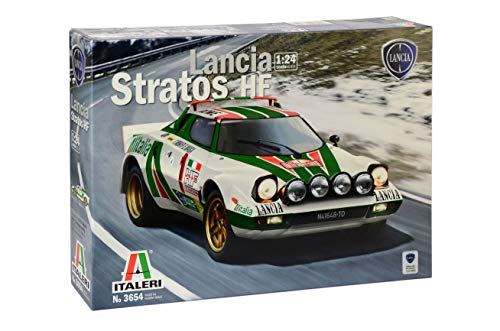 Italeri 3654 - Lancia Stratos Hf Model Kit  Scala 1:24