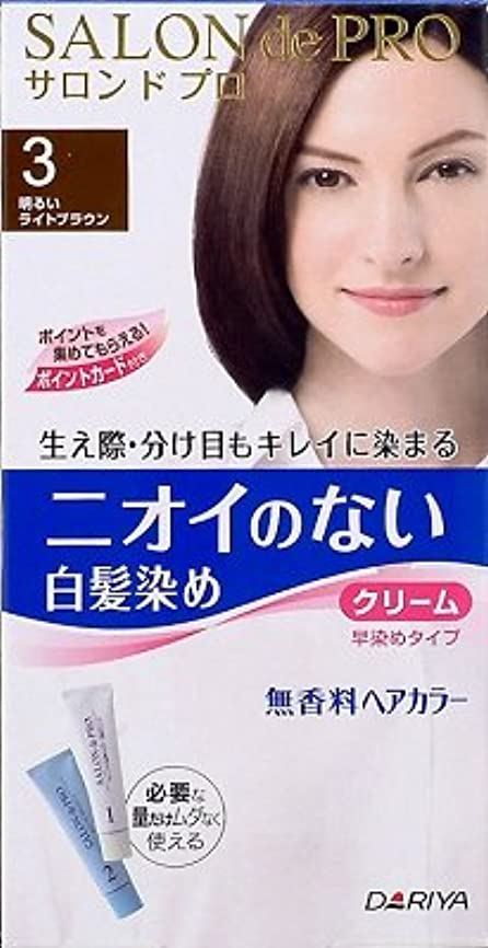 二十反対するどこダリヤ Sプロ 無香料ヘアカラー早染めクリーム(白髪用) 3×36点セット (4904651178698)