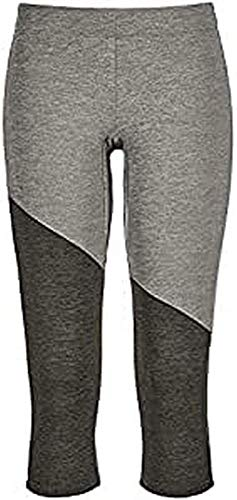 ORTOVOX Fleece Light Short Pants W Veste Femme, Mélange Gris, L