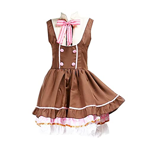 Oppinty Love Live Anime School Idol Project Yazawa Nico Cosplay Sweet Candy Maid disfraces Trajes de vestir