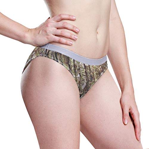 UWSG Womens Underwear Realtree Camo Bikini Panties Breathable Hipster Briefs Panty