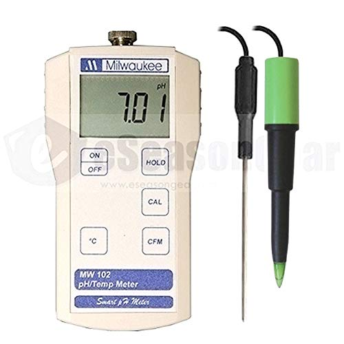 Milwaukee MW102 + MA920 pH Meter for Food Meat Cheese Dairy Products