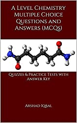 GCE A Level Chemistry Quiz, MCQs & Tests
