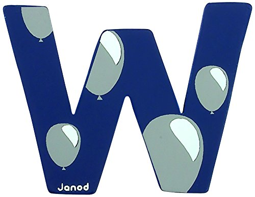 Lettre ABCDeco W - Janod