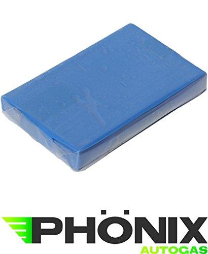 SEBA Top Pâte de nettoyage Bleu doux 100 g avec Boîte de rangement