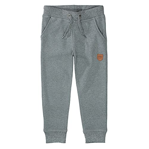 Staccato Jungen Jogginghose | Anthra Mel. 92/98 | Kordelzug | elastische Rippbündchen