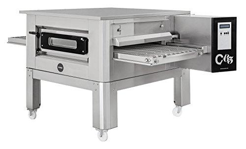 Horno de pizza tipo túnel C/65 Prismafood Premium, adecuado para bandejas de pizza...