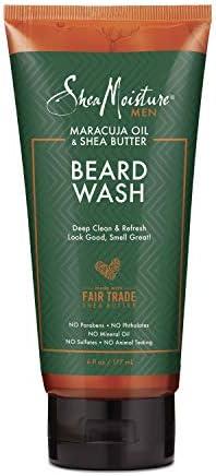 SheaMoisture Beard Wash for a Full Beard Maracuja Oil Shea Butter to Deep Clean and Refresh product image
