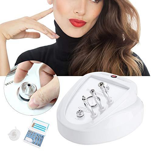 Dermabrasión de diamante 3 en 1 de acné para líneas finas de decoloración Limpiador de Poros Eliminador de Puntos Negros Extractor de Puntos Negros Limpiador Facial Blackhead