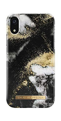 IDEAL OF SWEDEN Handyhülle für iPhone XR (Black Galaxy Marble)