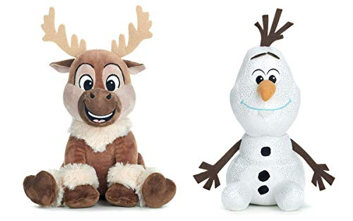 Disney Frozen 2 - Pack 2 Peluches 11'81