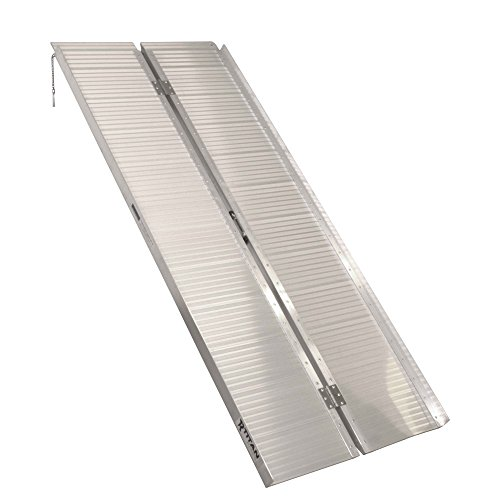 Titan Ramps Portable Wheelchair Ramp Single Fold 6 ft x 30 in 600 lb Capacity Lightweight and Easy to Transport