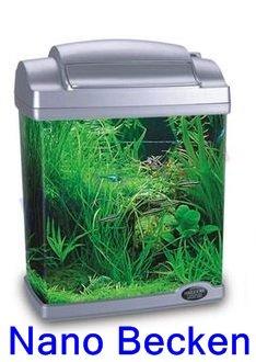 Campo24 Nano Aquarium incl. Zubehör aus Acryl für Süß- und Salzwasser