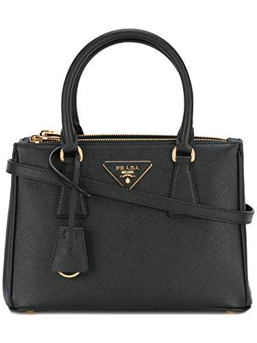 Prada Mode De Luxe Femme 1BA896NZVF0002 Noir Cuir Sac...